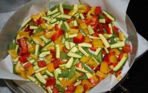pasta verdure